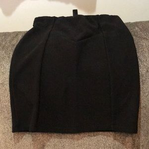 Forever 21 ribbed pencil skirt. Black. Small
